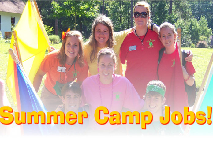 jobs available at summer camps