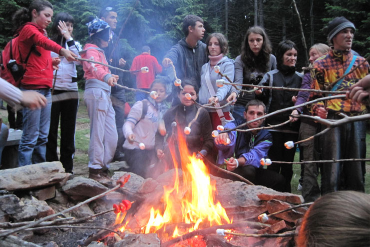 Amazing campfire experiences