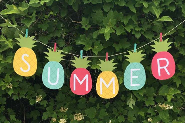 how to make summer camp banner for kids