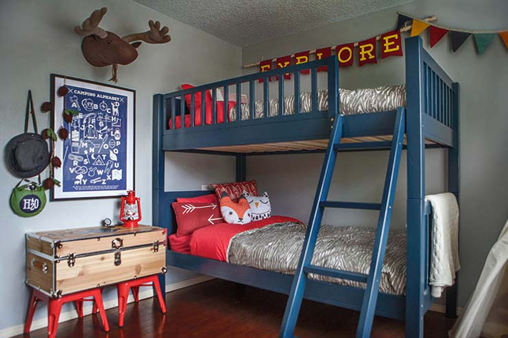 How To Decorate A Camp Bunk Bed
