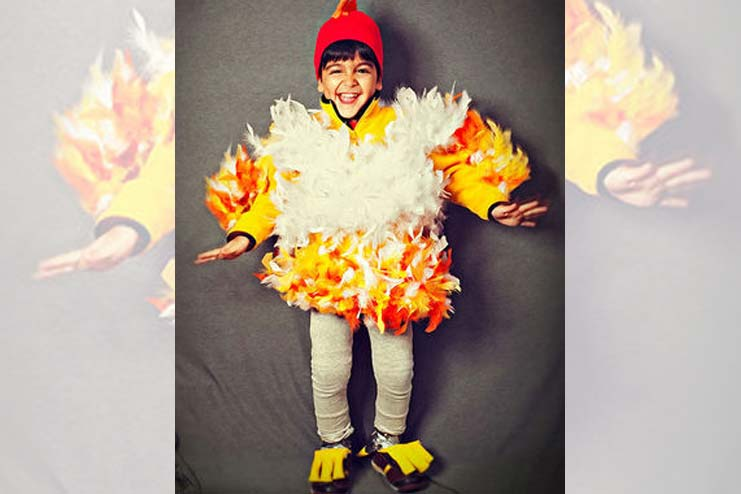 A Campfire Costume Is Lovely Get Up For Most Fond Memories Of Summer Camp Are Made Around That Make It At Home With An Orange T Shirt Or Jacket