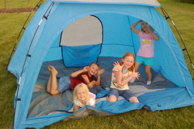 Tips On Camping In The Backyard With Kids