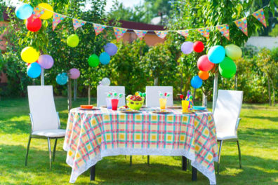 Ideas For A Birthday Party While At Summer Camp
