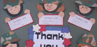celebrate Veterans day with kids